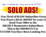 High Converting Solo Ads